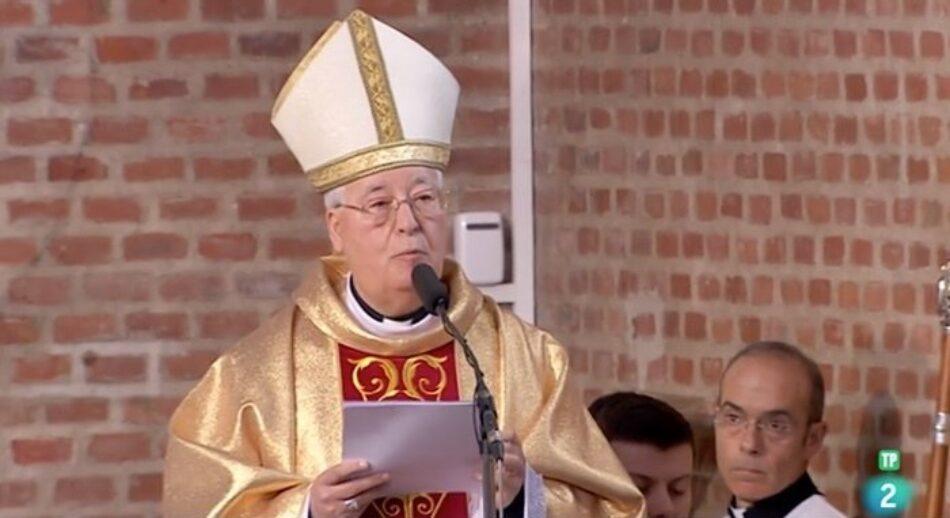 Las palabras del obispo Reig Plá en La 2 desatan la polémica