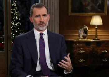 Felipe de Borbón en su discurso navideño: «donde nadie agite viejos rencores o abra heridas cerradas»