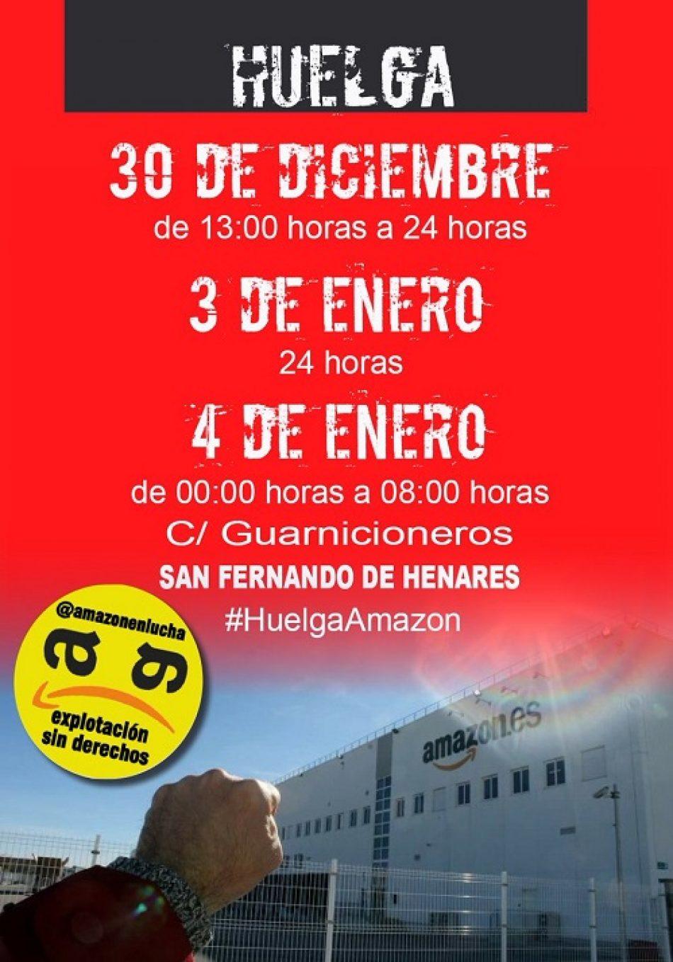 Amazon obligará a parte de su plantilla en San Fernando de Henares a trabajar el tradicional 6 de enero, día de los Reyes Magos