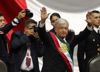 Toma de posesión de AMLO, primer presidente de izquierda en México