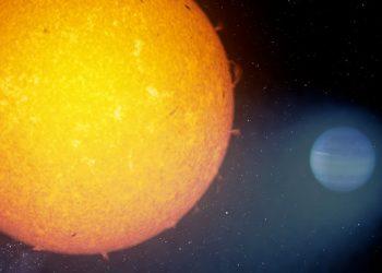 El instrumento CARMENES detecta fugas de helio en exoplanetas gigantes