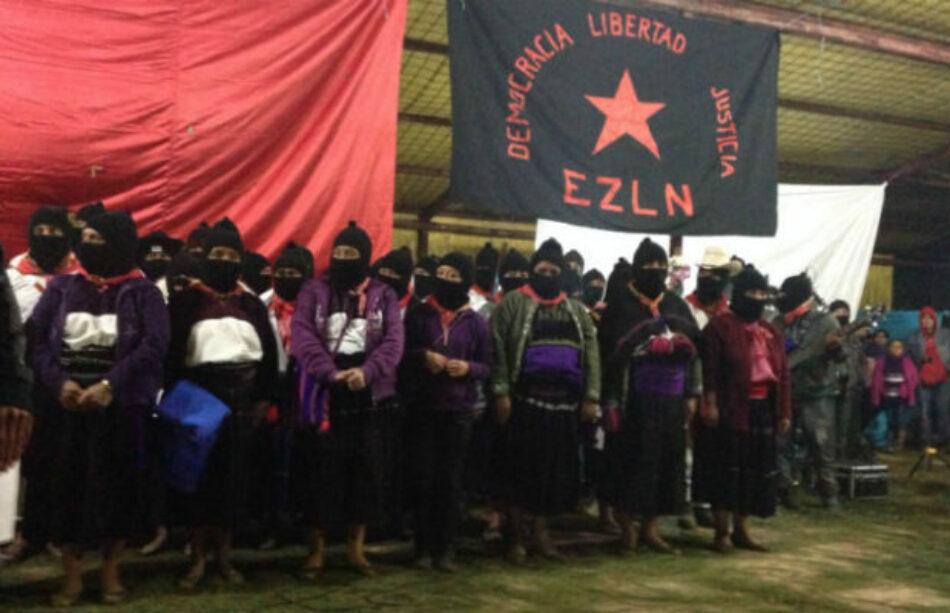 EZLN invita a celebrar los 25 años del alzamiento de su movimiento armado