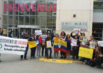 En Europa: Solidarios con las lucha sindical, estudiantil y social en Colombia
