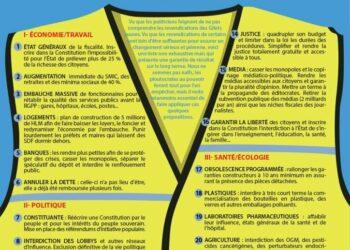Nueva «carta con 25 demandas de los chalecos amarillos franceses» se presenta como «oficial»