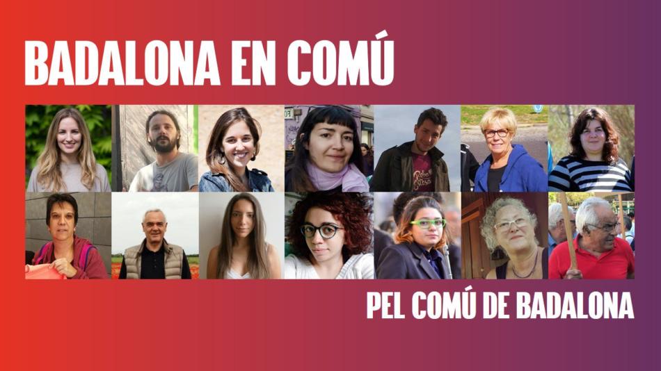 "La candidatura ""Badalona En Comú"" es presenta a les primàries del Comú de Badalona"