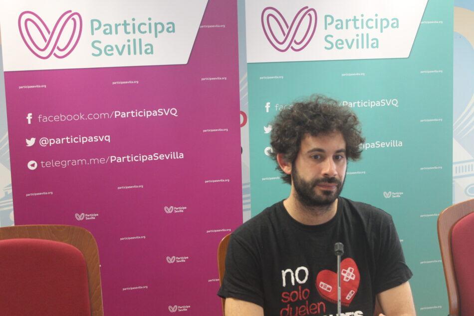 Participa Sevilla denuncia que no se han ejecutado el 81% de las inversiones previstas en Sevilla en 2018