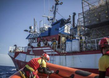 ACNUR pide solución urgente para el pesquero Nuestra Señora de Loreto sin retorno forzoso a Libia