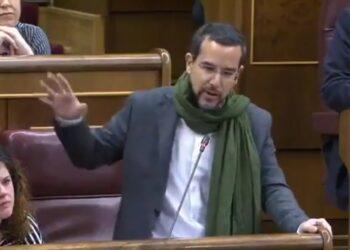 El diputado de Unidos Podemos Sergio Pascual acusa a Borrell de hacer lobby a favor de Marruecos