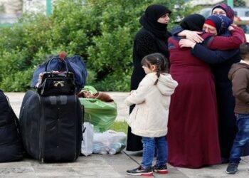 Más de 4.000 sirios regresan a sus hogares desde Jordania