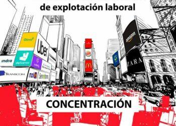 CGT llama a una concentración en la Puerta del Sol contra los nuevos modelos de explotación laboral