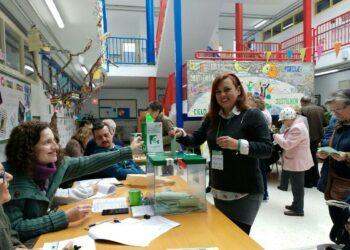Los candidatos de Adelante Andalucía en Málaga votan en «una jornada ilusionante»