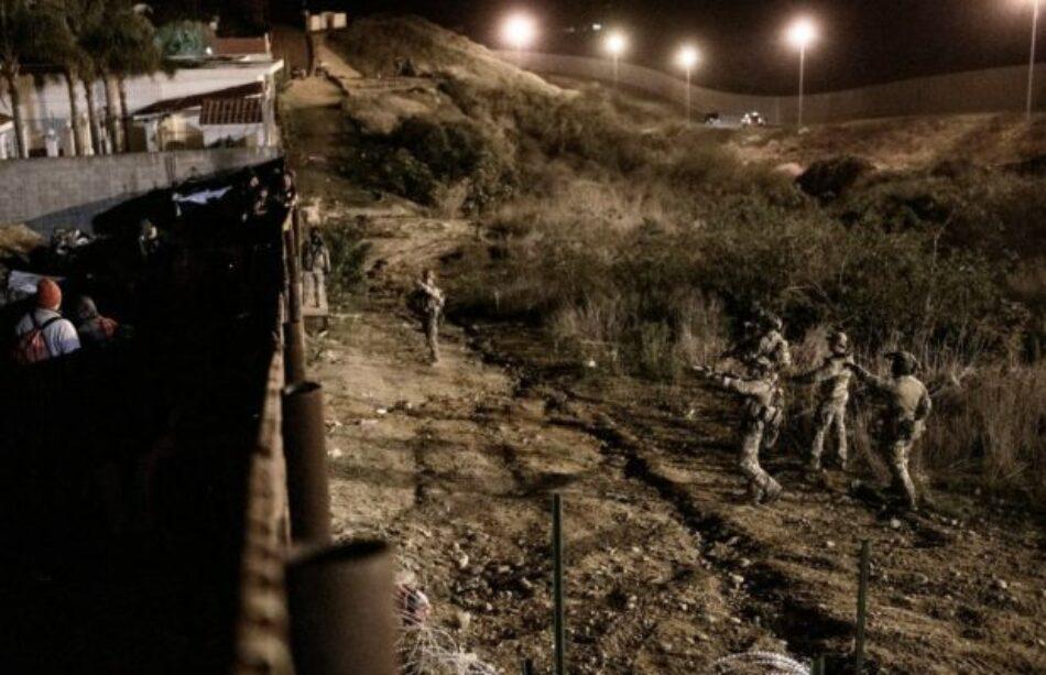 Caravana Migrante. Cancillería mexicana repudia violencia en la frontera y pide a EEUU investigar los hechos