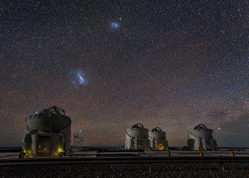 La Gran Nube de Magallanes se adelantará a Andrómeda en su impacto con la Vía Láctea