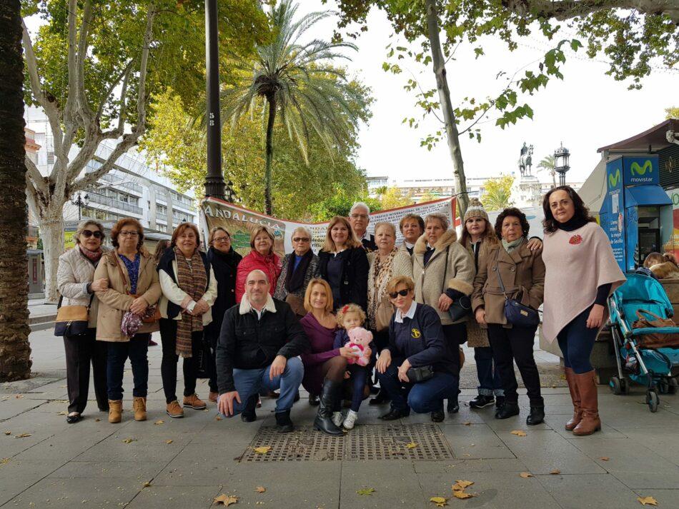 Primera concentración del año de la «Asociación Sevilla Bebés Robados»