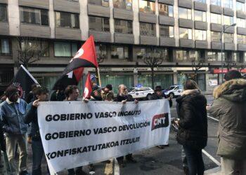 CNT exige al Gobierno Vasco que cumpla en materia de Memoria Histórica