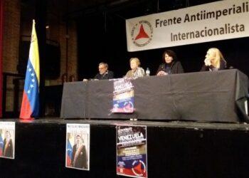 El FAI celebró acto de apoyo a la Revolución Bolivariana