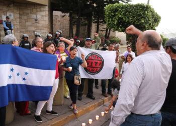 """Honduras. """"Para botar la dictadura debemos unirnos"""""""