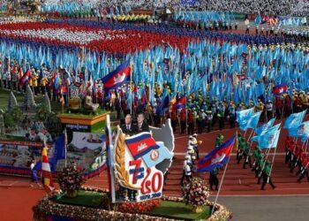 Camboya conmemora el 40 aniversario de la caída de los Jemeres Rojos