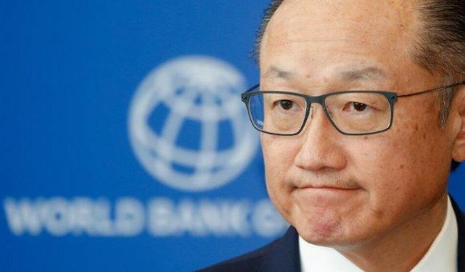 Dimite presidente del Banco Mundial tras más de seis años en el cargo