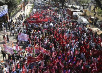India: los medios occidentales ocultan la huelga general más grande de la historia