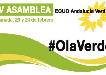 EQUO Andalucía Verdes celebrará su IV Asamblea los próximos 23 y 24 de febrero