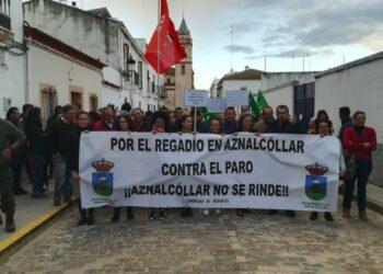 Bustamante lleva al Congreso la necesidad de poner en riego 2.000 hectáreas en Aznalcóllar