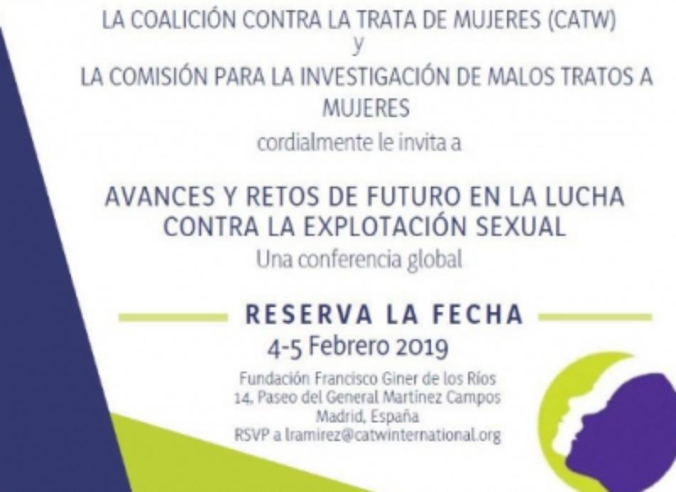 Supervivientes de trata y explotación sexual se reúnen en Madrid para luchar contra la industria del sexo