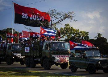 """La Revolución que salvó a Cuba volvió a entrar a La Habana: """"Ahora tenemos que salvarla todos"""""""