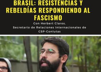 La Red Sindical Internacional celebra una charla-debate para concienciar sobre la creación de resistencias antifascistas