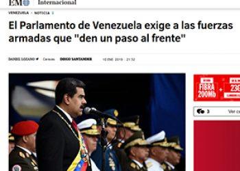 Venezuela: la jauría mediática y el bucle golpista