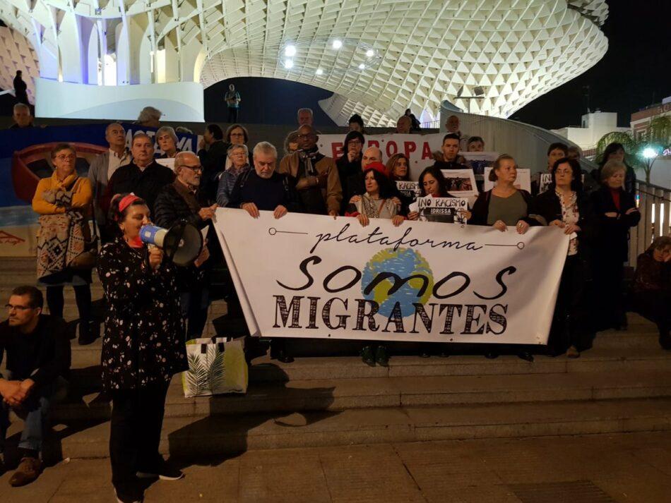 La Plataforma 'Somos Migrantes' condena cualquier manifestación que genere discursos de odio y división