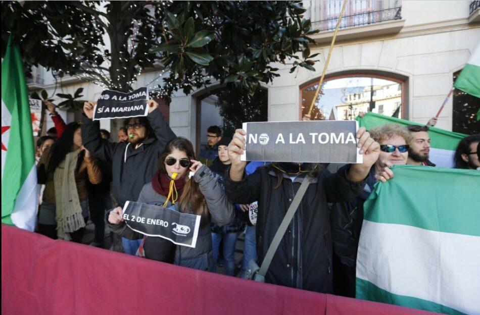 Podemos pide explicaciones en el Senado por la retirada de banderas andaluzas durante el día de la toma de Granada