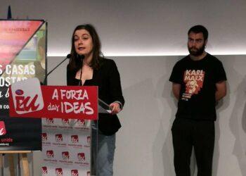 """Esquerda Unida lleva a Galicia la campaña para """"frenar la amenaza"""" que supone el aumento de las casas de apuestas"""