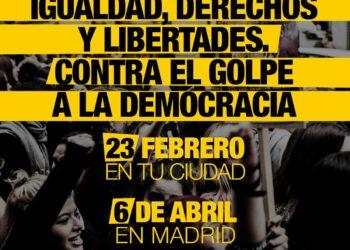 'Caminando' convoca acciones descentralizadas el 23 de febrero, el 28 de febrero en Andalucía y el 6 de abril una manifestación en Madrid