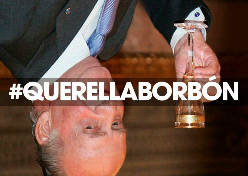 """Los firmantes de la 'Querella Borbón' muestran su """"total agradecimiento"""" por la """"desinteresada colaboración de miles de personas"""" para recaudar la fianza impuesta por el Supremo"""