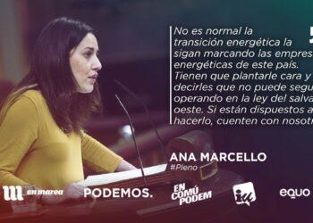 Unidos Podemos ha exigido un plan de empleo garantizado previo al cierre de cualquier puesto en las comarcas mineras ante el RD de transición energética