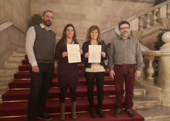 Catalunya en Comú Podem exigeix que es respectin els drets lingüístics a totes les administracions de l'Estat