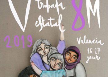 Más de 500 mujeres se reúnen los días 26 y 27 de enero en Valencia para preparar la huelga del 8M