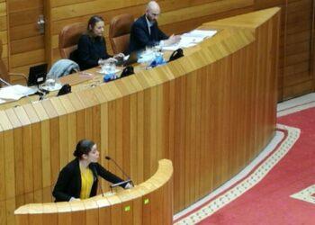 """Eva Solla: """"Galicia sofre unha crise sanitaria descomunal e cada ano hai saturacións e colapsos nas Urxencias"""""""
