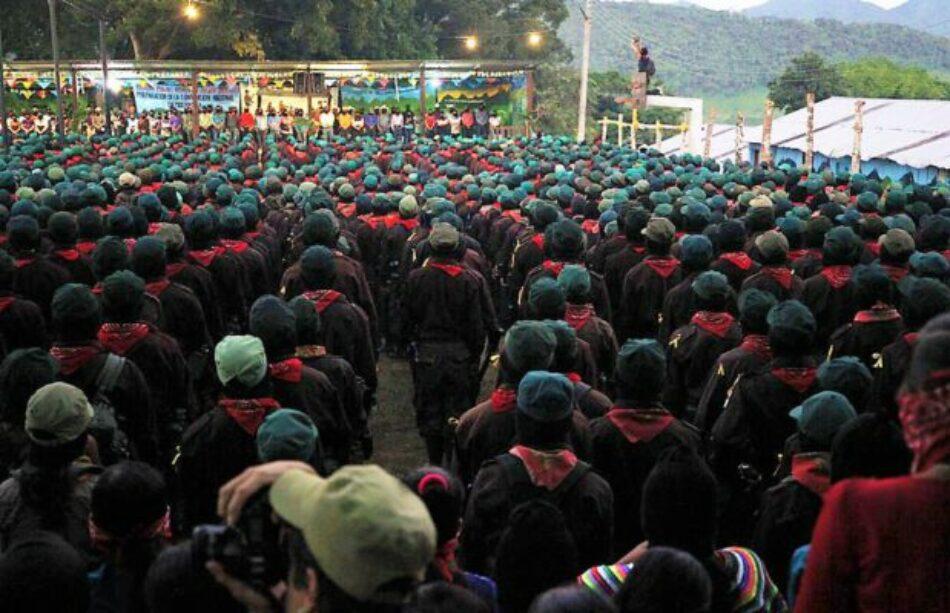 EZLN: Palabras del Subcomandante Insurgente Moisés a los Pueblos Zapatistas en el 25 aniversario del inicio de la guerra contra el olvido/ Palabras del Comité Clandestino Revolucionario Indígena