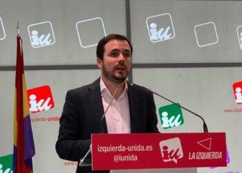 """Garzón reafirma la apuesta """"inquebrantable"""" de IU por """"mejorar la unidad política y por reforzarse"""""""
