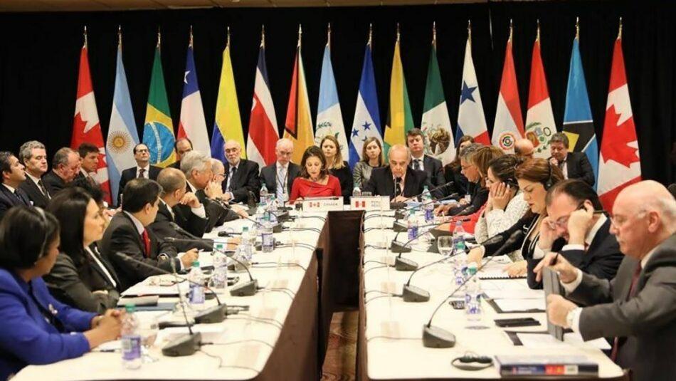 ¡Respeto a la soberanía de Venezuela ante el intento de injerencia de EEUU a través del Grupo de Lima!