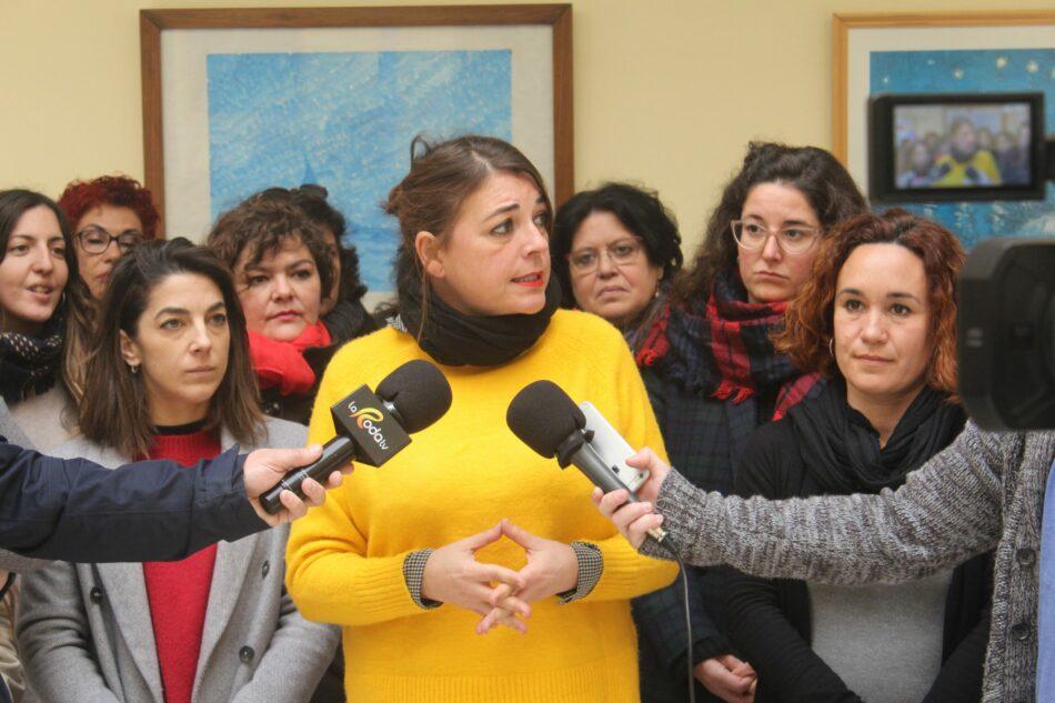 El PCA se pone a disposición del movimiento feminista para que las concentraciones y la Huelga sean un éxito