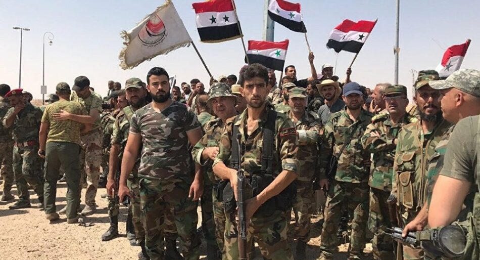 El ejército sirio comienza la desmovilización de parte de sus tropas tras últimos avances