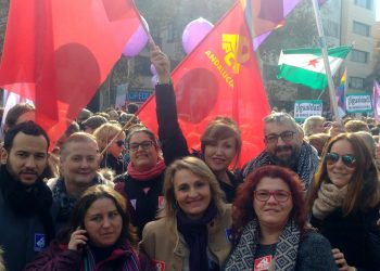 IU se suma a la movilización feminista por la igualdad de derechos