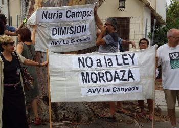No Somos Delito demanda una explicación al Alcalde de Paterna sobre 6 sanciones por la Ley Mordaza