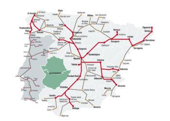 Unidos Podemos registra una batería de iniciativas para que el Gobierno detalle qué inversiones urgentes destinará a Extremadura y al resto del Estado frente a los problemas del tren