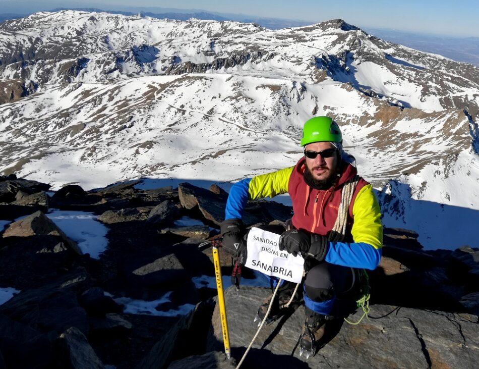 Sanidad Digna Sanabria, en el pico ibérico más alto