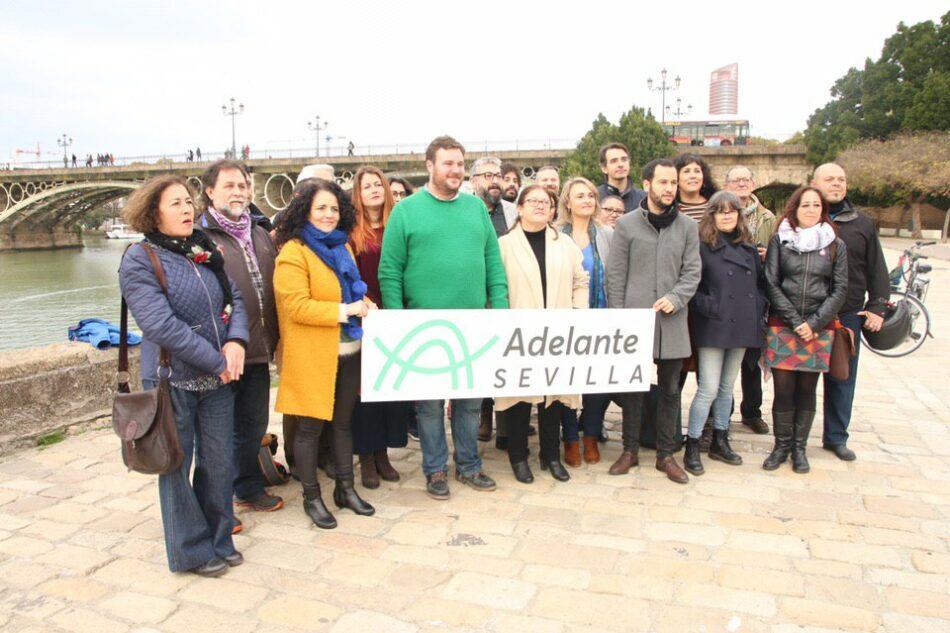 Adelante Sevilla lanza su manifiesto 'Cuida Sevilla' y llama a la adhesión ciudadana