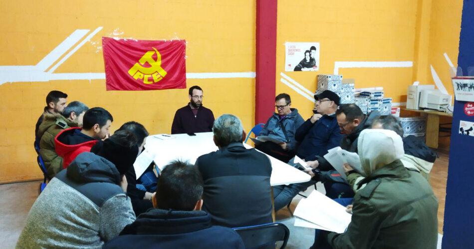 El Núcleo del Bajo Aragón Histórico del PCE se reune con la representación sindical de la central térmica de Andorra y subcontratas